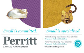 Perritt Capital Management Trade Show Displays