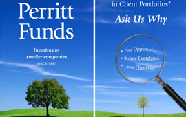 Perritt Mutual Funds Trade Show Banners