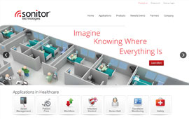 Sonitor Website Design