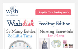 Wish Baby Registry Emails