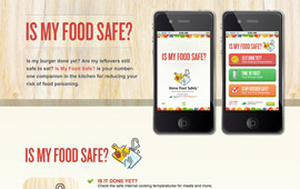 Home Food Safety App & Website Design