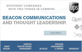 Beacon Communications Website Design