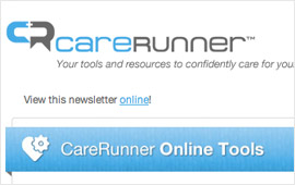 Carerunner.com HTML Newsletter Design