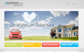 Esegurar Website Design