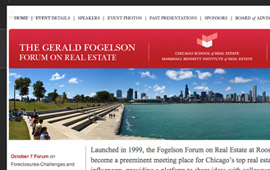Fogelson Forum Website Design