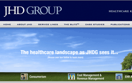 JHD Group Website Design