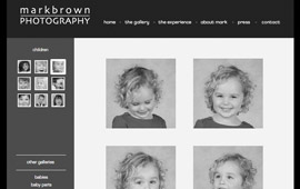 Mark Brown Photography Website Design