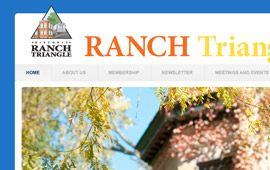 Ranch Triangle Website Design